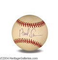 Autographs, Paul Sorvino In-Person Signed Baseball