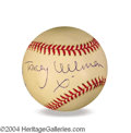 Autographs, Tracey Ullman In-Person Signed Baseball