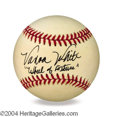 Autographs, Vanna White In-Person Signed Baseball