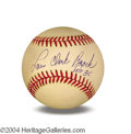 Autographs, Lou Brock Signed Baseball