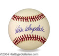 Autographs, Don Drysdale Signed Baseball