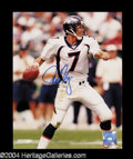 Autographs, John Elway Signed 8 x 10 Photo