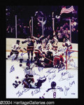 Autographs, 1980 U.S. Hockey Team Signed Photo
