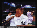 Autographs, Mickey Mantle Signed Lithograph