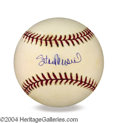 Autographs, Stan Musial Signed Baseball