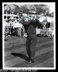 Autographs, Byron Nelson Signed 8 x 10 Photo