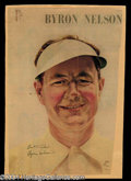 Autographs, Byron Nelson Vintage Signed Magazine Photo