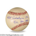 Autographs, Sadaharu Oh Japan HR King Signed Baseball