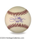 Autographs, Jim Palmer Signed Baseball