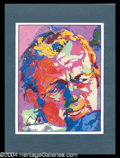 Autographs, Arnold Palmer Signed LeRoy Neiman Print