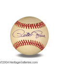 Autographs, Pete Rose Signed Giamatti Baseball