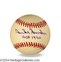 "Autographs, Duke Snider Signed ""HOF"" Baseball"