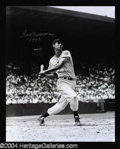 Autographs, Ted Williams Signed 16 x 20 Photo