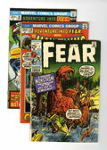 Bronze Age (1970-1979):Horror, Fear Group (Marvel, 1970-74) Condition: Average VF+.... (Total: 11Comic Books)