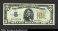 Small Size:World War II Emergency Notes, 1934-A $5 North Africa Silver Certificate, Fr-2307, Gem CU. ...