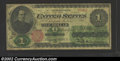 1862 $1 Legal Tender Note, Fr-16, VG-Fine. Although well circulated, this is an entirely acceptable example of our natio...