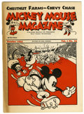 Platinum Age (1897-1937):Miscellaneous, Mickey Mouse Magazine V1#12 (Walt Disney Productions, 1934) Condition: VG+....