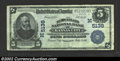 National Bank Notes:Missouri, Kansas City, MO - $5 1902 Plain Back Fr. 606 New England ...