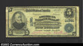 National Bank Notes:Virginia, Portsmouth, VA - $5 1902 Plain Back Fr. 606 American NB