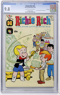 Richie Rich #84 File Copy (Harvey, 1969) CGC NM/MT 9.8 Off-white to white pages