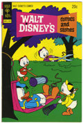 Bronze Age (1970-1979):Cartoon Character, Walt Disney's Comics and Stories #396 Signed by Carl Barks (GoldKey, 1973) Condition: FN+....