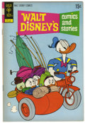 Bronze Age (1970-1979):Cartoon Character, Walt Disney's Comics and Stories #385 Signed by Carl Barks (GoldKey, 1972) Condition: FN/VF....