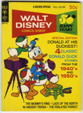 Bronze Age (1970-1979):Cartoon Character, Walt Disney Comics Digest #44 Signed by Carl Barks (Gold Key, 1971)Condition: VF+....
