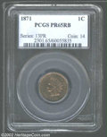 Proof Indian Cents: , 1871 PR 65 Red and Brown PCGS. ...