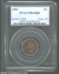 Proof Indian Cents: , 1900 PR 65 Red PCGS. The current Coin Dealer Newsletter (...