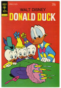 Bronze Age (1970-1979):Cartoon Character, Donald Duck #154 Signed by Carl Barks (Gold Key, 1974) Condition:VF/NM....