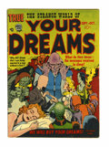 Golden Age (1938-1955):Horror, Strange World of Your Dreams #2 (Prize, 1952) Condition: FN-....