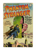 Golden Age (1938-1955):Horror, The Phantom Stranger #6 (DC, 1953) Condition: GD+....