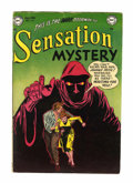 Golden Age (1938-1955):Horror, Sensation Mystery #113 (DC, 1953) Condition: Apparent VG/FN....