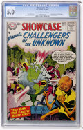 Silver Age (1956-1969):Superhero, Showcase #11 Challengers of the Unknown (DC, 1957) CGC VG/FN 5.0 Off-white to white pages....