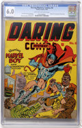 Golden Age (1938-1955):Superhero, Daring Mystery Comics #6 (Timely, 1940) CGC FN 6.0 Light tan to off-white pages....