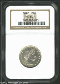 Proof Barber Quarters: , 1897 PR 64 NGC. ...
