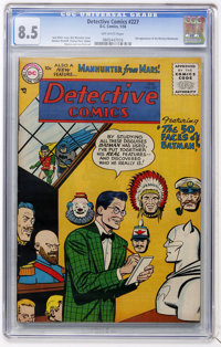 Detective Comics #227 (DC, 1956) CGC VF+ 8.5 Off-white pages