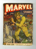 Golden Age (1938-1955):Science Fiction, Marvel Stories V2#3 (Red Circle, 1941) Condition: GD+....