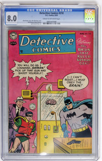 Detective Comics #210 (DC, 1954) CGC VF 8.0 Cream to off-white pages
