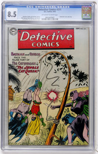 Detective Comics #211 (DC, 1954) CGC VF+ 8.5 Off-white to white pages