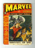 Golden Age (1938-1955):Science Fiction, Marvel Stories V2#2 (Red Circle, 1940) Condition: GD/VG....