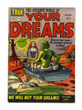 Golden Age (1938-1955):Science Fiction, Strange World of Your Dreams #1 (Prize, 1952) Condition: FN....