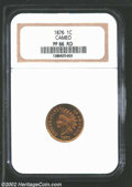 Proof Indian Cents: , 1876 1C PR66 Red, Cameo NGC. This lovely and ...