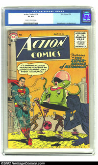 Action Comics #216 (DC, 1956) CGC VF 8.0 Cream to off-white pages. Wayne Boring and Jim Mooney art. Overstreet 2002 VF 8...
