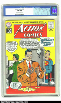 Action Comics #282 (DC, 1961) CGC NM- 9.2 Off-white to white pages. Overstreet 2002 NM 9.4 value = $120