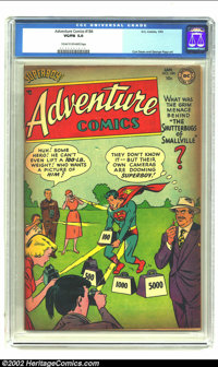 Adventure Comics #184 (DC, 1953) CGC VG/FN 5.0 Cream to off-white pages. Curt Swan and George Papp art. Covers have tann...
