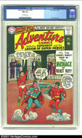 "Silver Age (1956-1969):Superhero, Adventure Comics #339 (DC, 1965) CGC NM 9.4 Off-white pages. Curt Swan delineated the cover touting ""The Menace of the Beast..."