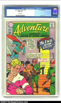 Adventure Comics #359 (DC,1967) CGC NM 9.4 Off-white pages. This is the highest grade copy od this particular issue. Ove...