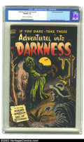 Golden Age (1938-1955):Horror, Adventures Into Darkness #5 (Standard, 1952) CGC VG/FN 5.0 Cream tooff-white pages. A ghoul steals a corpse from the gallow...