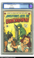 Golden Age (1938-1955):Horror, Adventures Into the Unknown #13 (ACG, 1950) CGC FN- 5.5 Cream tooff-white pages. Ogden Whitney cover and art. Overstreet 20...
